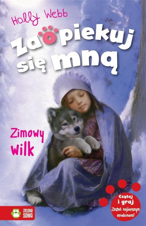 Zimowy wilk Webb Holly