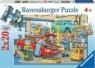 Puzzle 2x24 Warsztat samochodowy i stacja benzynowa (088553)