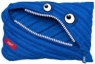 Piórnik Monster Jumbo niebieski