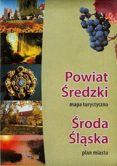 Gmina Środa Śląska Mapa turystyczna