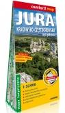 Jura Krakowsko-Częstochowska. Część północna laminowana, 1:52 000 - mapa turystyczna