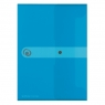 Teczka A4 PP na dokumenty Easy Orga - niebieska jasna (11206687)