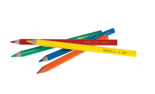 Kredki trójkątne - Jumbo 17,5cm 18 kolorów (15554PTR)