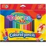 Kredki trójkątne Jumbo Colorino, 18 kolorów (15554PTR)