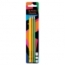 Ołówek HB, 3 szt. - Neon Art