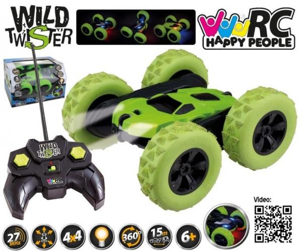 Pojazd R/C Wild Twister 27MHz (30094)