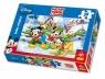 Puzzle Myszka Miki i Przyjaciele Puszysty Śnieżek 30  (18155)