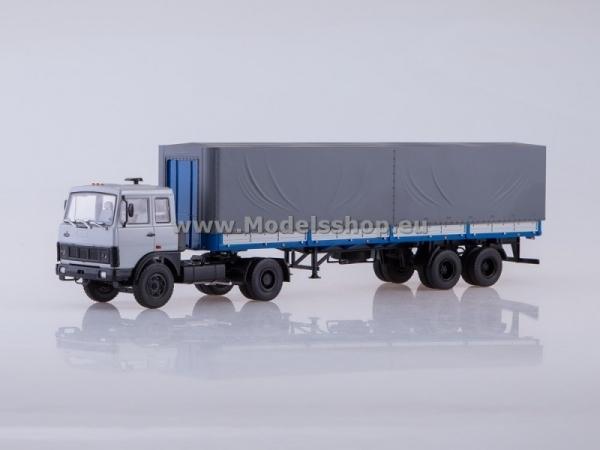 MAZ-5432 Tractor Truck with Semitrailer MAZ-93971 (AI7025)