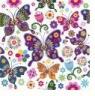Serwetki TL566000 Colorful Butterflies