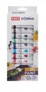 Farbki olejne 12 kolorów EASY