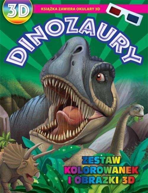 Kolorowanki 3D Dinozaury