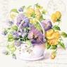 Serwetki SDL250000 Flower Letter