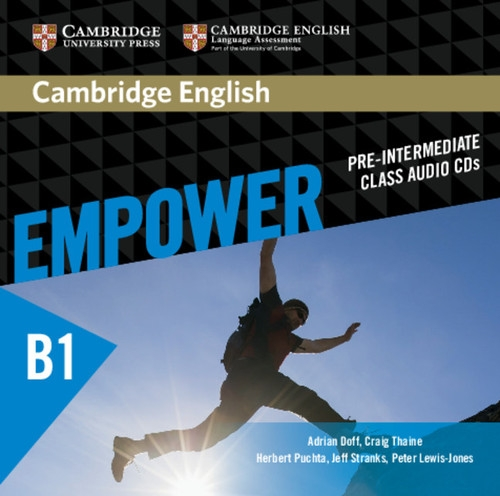 Cambridge English Empower Pre-intermediate Class Audio 3CD Doff Adrian, Thaine Craig, Puchta Herbert