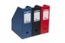 Pojemnik PVC na dokumenty/czasopisma Elba A4 czerwony