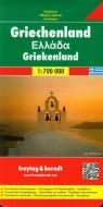 Grecja mapa drogowa 1:700 000