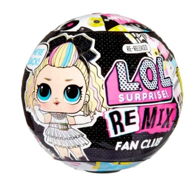 L.O.L. Surprise  Figurka Remix Supreme Fan Club 1 sztuka (422556-INT)
