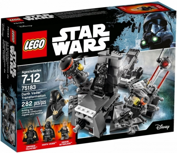 Lego Star Wars: Transformacja Dartha Vadera (75183)