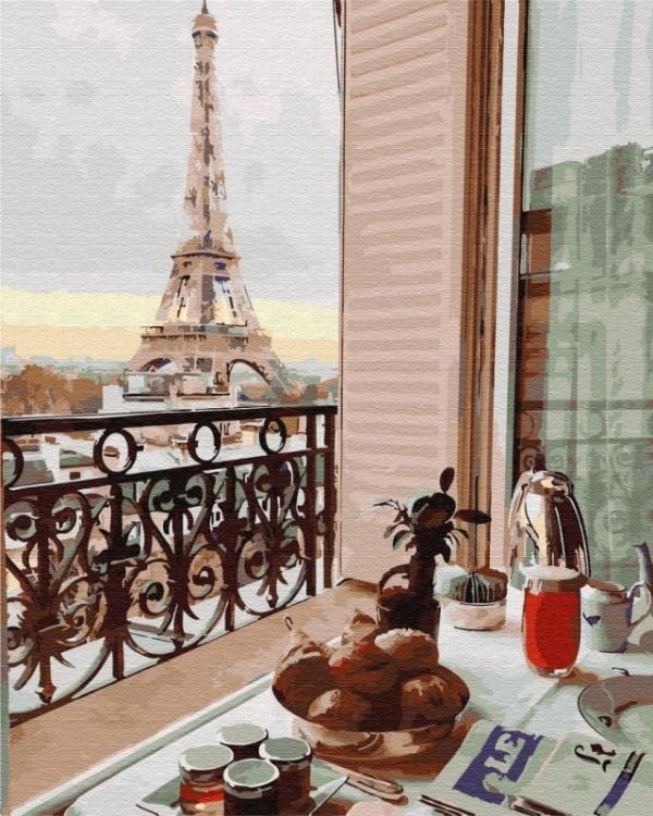Obraz Malowanie po numerach Paryż (GX29704)