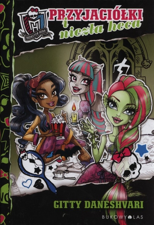 Monster High Przyjaciółki i niezła heca Daneshvari Gitty