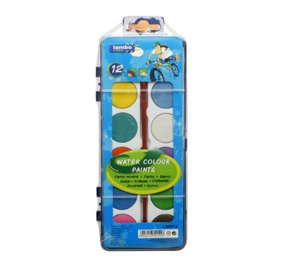 Farby Lambo School 12 kolorów (L360K12)