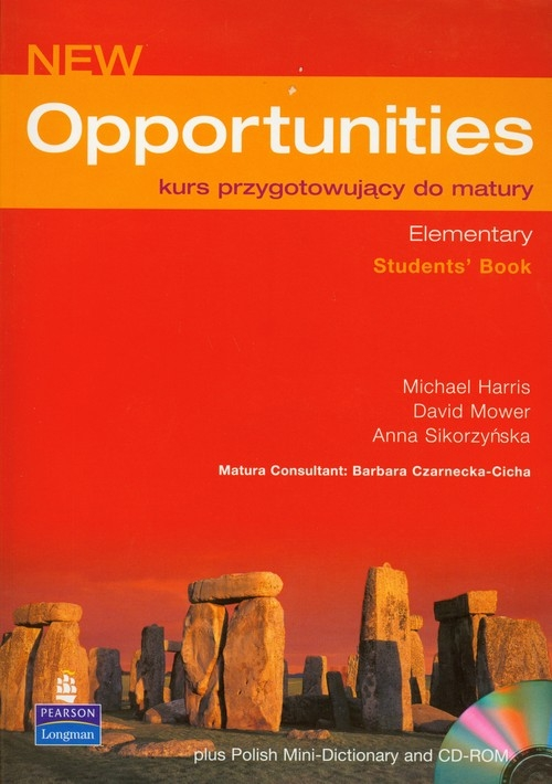 Opportunities New Elementary Students Book z płytą CD Harris Michael, Mower David, Sikorzyńska Anna