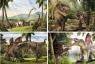 Puzzle Era dinozaurów 4w1 (1455)