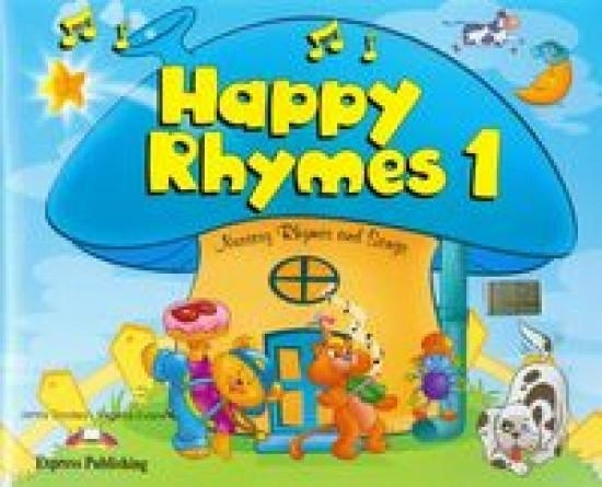 Happy Rhymes 1 Pupil's Book + CD + DVD Dooley Jenny, Evans Virginia