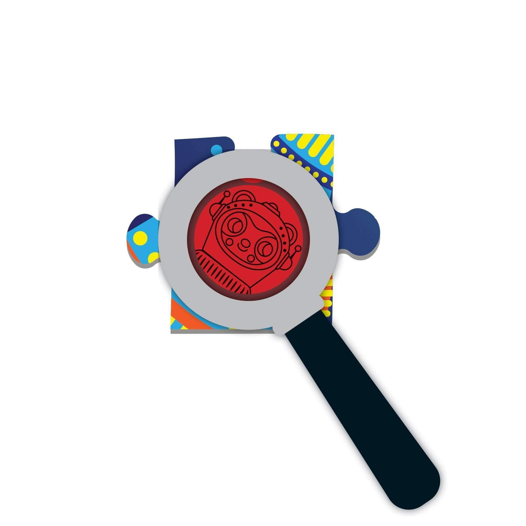 Puzzle z ukrytymi obrazkami 42: Kosmos (MP57556)