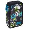 Coolpack - Jumper 2 - Piórnik podwójny z wyposażeniem - Football (C66230)