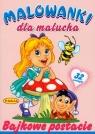 Bajkowe postacie Malowanki dla malucha