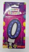 Świeczka urodzinowa - 0 (PTN1-0)