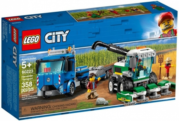 Lwgo City: Transporter kombajnu (60223)