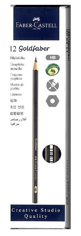 Ołówek Goldfaber 1221/2B (12szt) FABER CASTELL