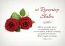 Kartka W Rocznicę Ślubu 5 - Miłość wszystko znosi