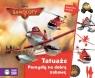 Tatuaże Pomysły na dobrą zabawę Samoloty 2