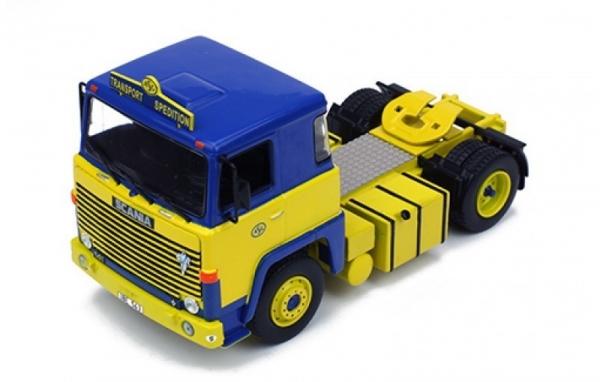 Scania LBT 141 ASG 1976 (blue/yellow) (TR002)