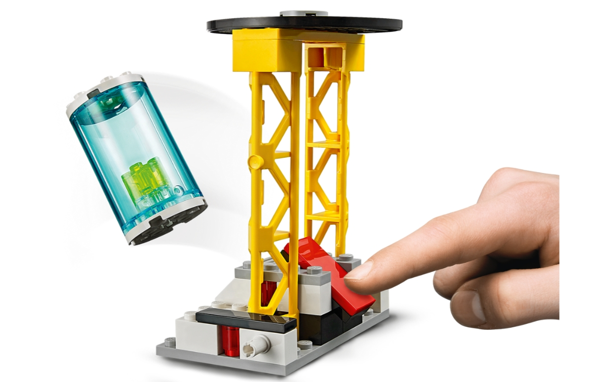 Lego City: Strażacka jednostka dowodzenia (60282)