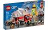 Lego City: Strażacka jednostka dowodzenia (60282) Wiek: 6+