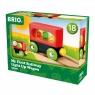 Brio World: Mój pierwszy pociąg - wagon podświetlany (63370800)Wiek: