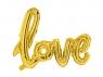 Balon foliowy Partydeco złoty napis Love 73x59 cm (FB15M-019)