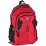Plecak młodzieżowy One Colour czerwony (17-30069)