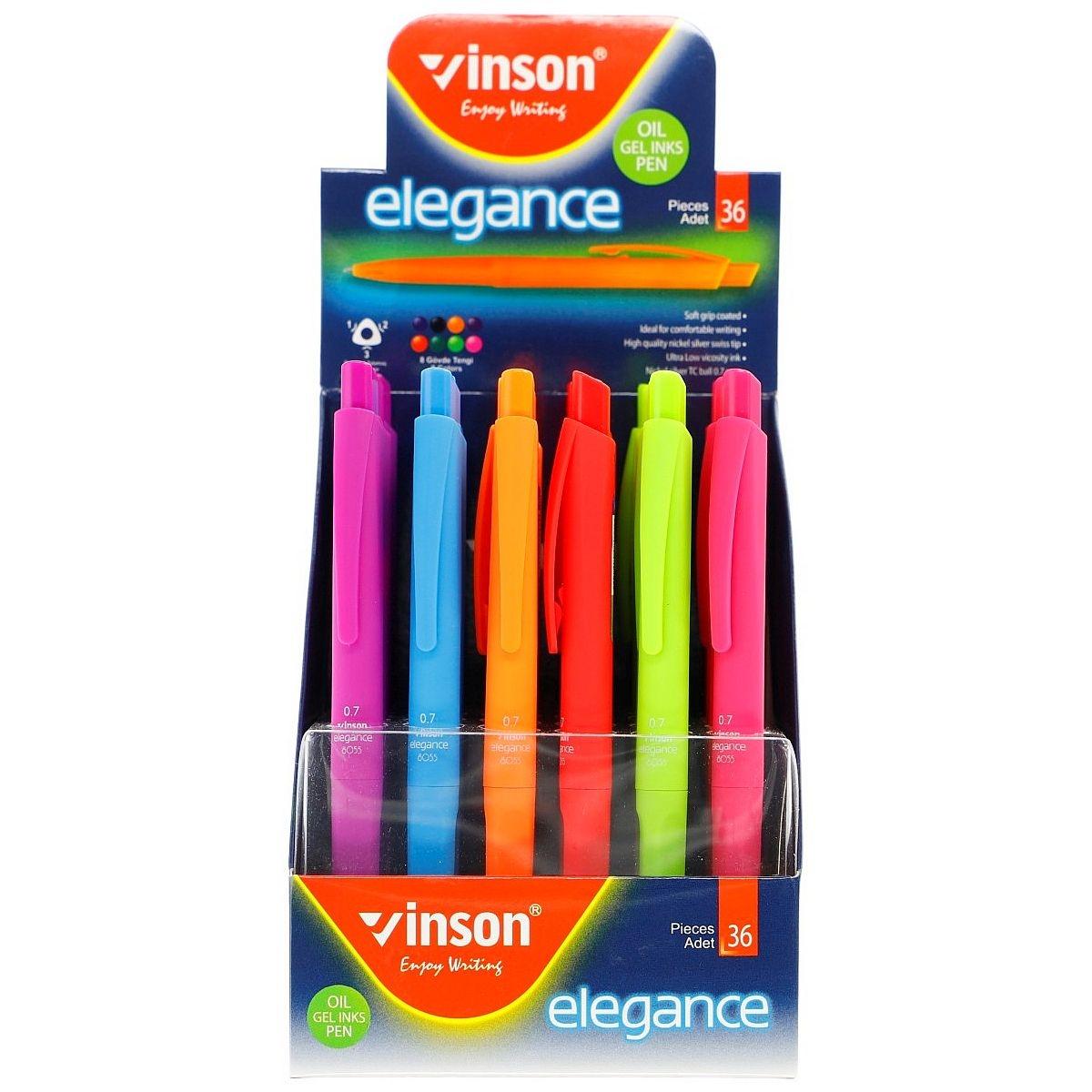 Długopis olejowy Vinson Elegance 8055 (402970)