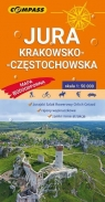 Mapa tur. wodoodpor. Jura Krakowsko-Częstochowska