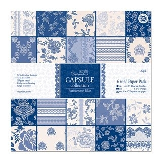 Zestaw papierów 15,2X15,2 CM PAPERMANIA CAPSULE PARISIENNE PMA-160219