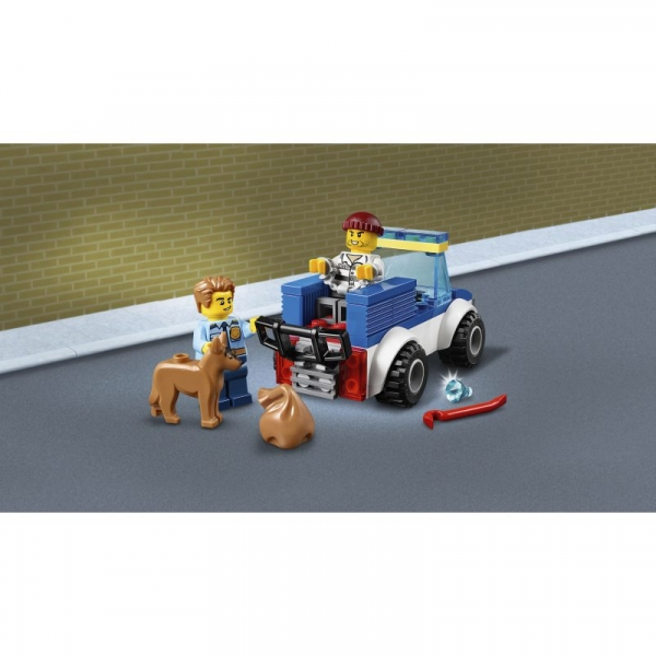 Lego City: Oddział policyjny z psem (60241)