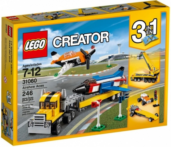 Lego Creator: Pokazy lotnicze (31060)