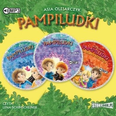 Pakiet Pampiludki audiobook Asia Olejarczyk