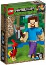 Lego Minecraft: BigFig Steve z papugą (21148)