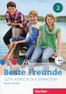 Beste Freunde 2 Zeszyt ćwiczeń + CD Gimnazjum
