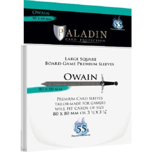 Koszulki na karty Owain Premium Standard European (80x80) 55 sztuk